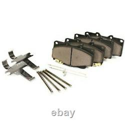 104.07861 Centric Brake Pad Sets 2-Wheel Set Front or Rear New for Truck F650 S2