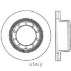 120.83013 Centric Brake Disc Front or Rear Driver Passenger Side New for Truck