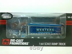 1/64 DCP/FG #3462 Western Distributing Peterbilt 379 Day Cab Super Dump