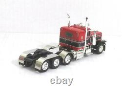 1/64 DCP /First Gear Peterbilt 389 Tri-Axle Tractor Cab (Red & Black) O/O
