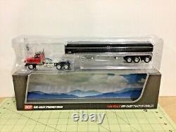1/64 DCP Peterbilt 579 day cab semi & Wilson grain trailer! FREE shipping