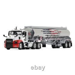 2019 First Gear DCP 164 WHITE & RED MACK ANTHEM Day Cab with42' Fuel Tanker NIB