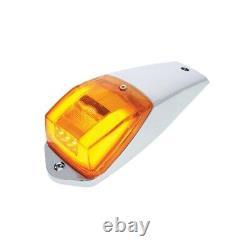 24 LED Amber GLO Square Cab Light Kit. Peterbilt Freighliner Kenworth