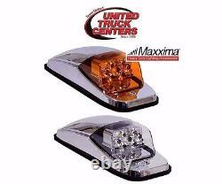 5 Maxxima Cab Light (amber/amber) Peterbilt Freightliner Kenworth Led