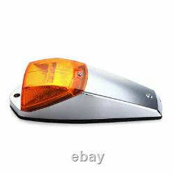 5x 17 LED Amber Cab Roof Top Marker Running Warning Light For Kenworth Peterbilt