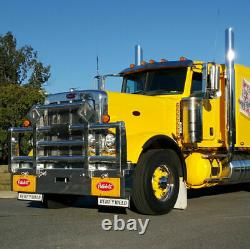 5x 17 LED Amber Torpedo Cab Roof Top Marker Light For Kenworth Peterbilt Truck