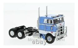 #64042 Neo Peterbilt 352 Pacemaker blau 86 inch Sleeper Cab 1979 164