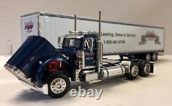 DCP 30696 Peterbilt 379 Day Cab Benlea Sales Leasing Truck Van Trailer 1/64