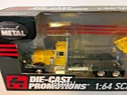 DCP First Gear #33678 Peterbilt 379 Day Cab w Manac Bottom Dump Trailer