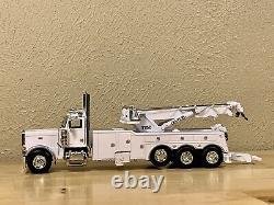 Dcp 1/64 Peterbilt Day Cab Rotator Wrecker Tow Truck Semi Farm Toy