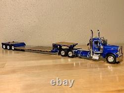 Dcp 1/64 Western Peterbilt 379 Day Cab Lowboy Semi Truck Farm Toy