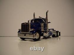 Dcp First Gear 1/64 Western Distributing Pete 379 Day Cab With Lowboy And Dozer