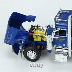 First Gear 1/64 Peterbilt 379 Day Cab & Lowboy w Tail & Komatsu D155AX-8 Dozer