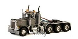 For PETERBILT 379 DAY CAB 8X4 tractor truck silvery 33-2015 1/50 DIECAST MODEL