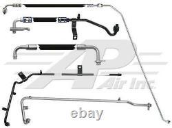 NEW AC HOSE KIT FITS Peterbilt 04-07 379 Cab Forward Hose and Steel Line Kit