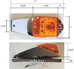 New 12 LED Cab Marker Lights FOR Peterbilt 377 385 379 378 367 386 384 357 356