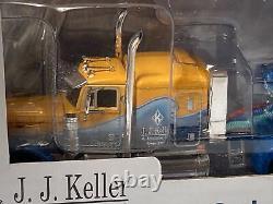New JJ Keller 164 Peterbilt 379 Sleeper Cab Semi Truck Trailer Boat Ertl 942-PP