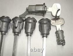 New Peterbilt 359 Lock Set Ignition, Glove, & (6) Door, Cab & Storage Locks