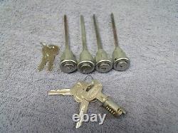 New Peterbilt Truck Cab Door Baggage Door Ignition Lock Set Nos Keys Plus Spares