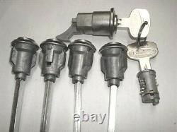 New Set Of Keyed Alike Peterbilt 359 Cab & Storage Doors Ignition & Glove Lock