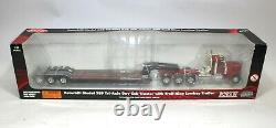 Norscot Peterbilt 389 150 Scale Tri-Axle Cab Tractor With Trail King Lowboy 61101