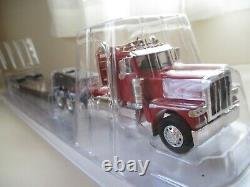 Norscot Peterbilt 389 Tri-axle Day Cab Tractor / Trail King Lowboy Trailer 1/50