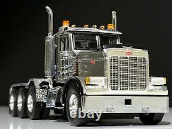 PETERBILT TRUCK WSI MODELS(379 8x4 DAY CAB)SILVER 150