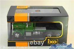 Peterbilt 281 Model Lorry Truck Cab Tractor Unit Green 143 Ixo 1955 Tr048 K8