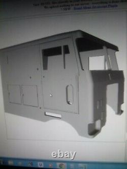 Peterbilt 352 Pacemaker COE Double Cab version (Resin) 125