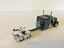 Peterbilt 359 Black / Chrome Tractor Cab Only 1/64th Scale DCP First Gear #0623