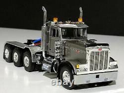 Peterbilt 379 8x4 day cab silver WSI truck models, 150