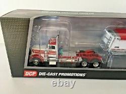 Peterbilt 379 Day Cab w Commander Grain Trailer 1/64th DCP First Gear #34106