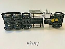 Peterbilt 389 Tri-axle Tractor Cab Black/Chrome 1/64 Scale DCP First Gear #4214