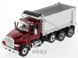 Peterbilt 579 150 OX Stampede Dump Truck Metallic red cab 71077