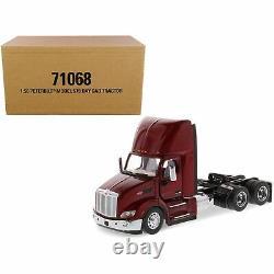 Peterbilt 579 Day Cab Truck Tractor Legendary Red Transport Series 1/50 Dieca