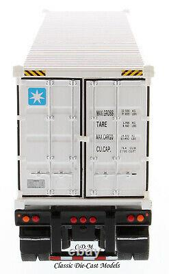 Peterbilt 579 Day Cab with40' MAERSK Sea Container 1/50 Diecast Masters 71069