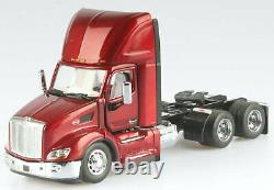 Peterbilt 579 Red Day Cab Tractor On-Highway Truck 71068