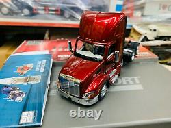 Peterbilt Model 579 Day Cab Tractor 150 Scale By Diecast Masters DM71068