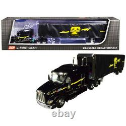 Peterbilt Model 579 with 72 Mid-Roof Sleeper Cab and 53\' Utility Roll Tarp S