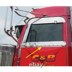 Peterbilt Under Window Trims 2005 With Cab Mounted Mirrors
