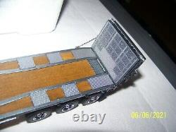Sword Peterbild 379 Day Cab with Nelson Ramp Trailer Silver Grey 150