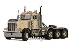 WSI 33-2014 150 Peterbilt 379 8x4 Day Cab in White, Cab Only