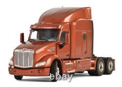 WSI 33-2024 150 Peterbilt 579 6x4 with Sleeper in Metallic Brown, Cab Only