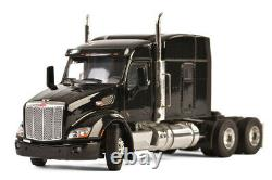 WSI 33-2026 150 Peterbilt 579 6x4 with Sleeper in Black, Cab Only