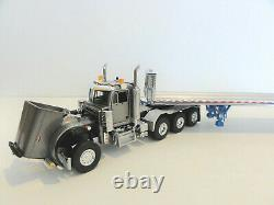 WSI SWORD PETERBILT 379 DAY CAB 8X4 withEast Flatbed Trailer 150 NEW