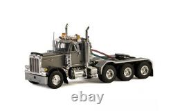 WSI for PETERBILT 379 DAY CAB 8X4 SILVER Cab for USA Basic Line 1/50 MODEL TRUCK